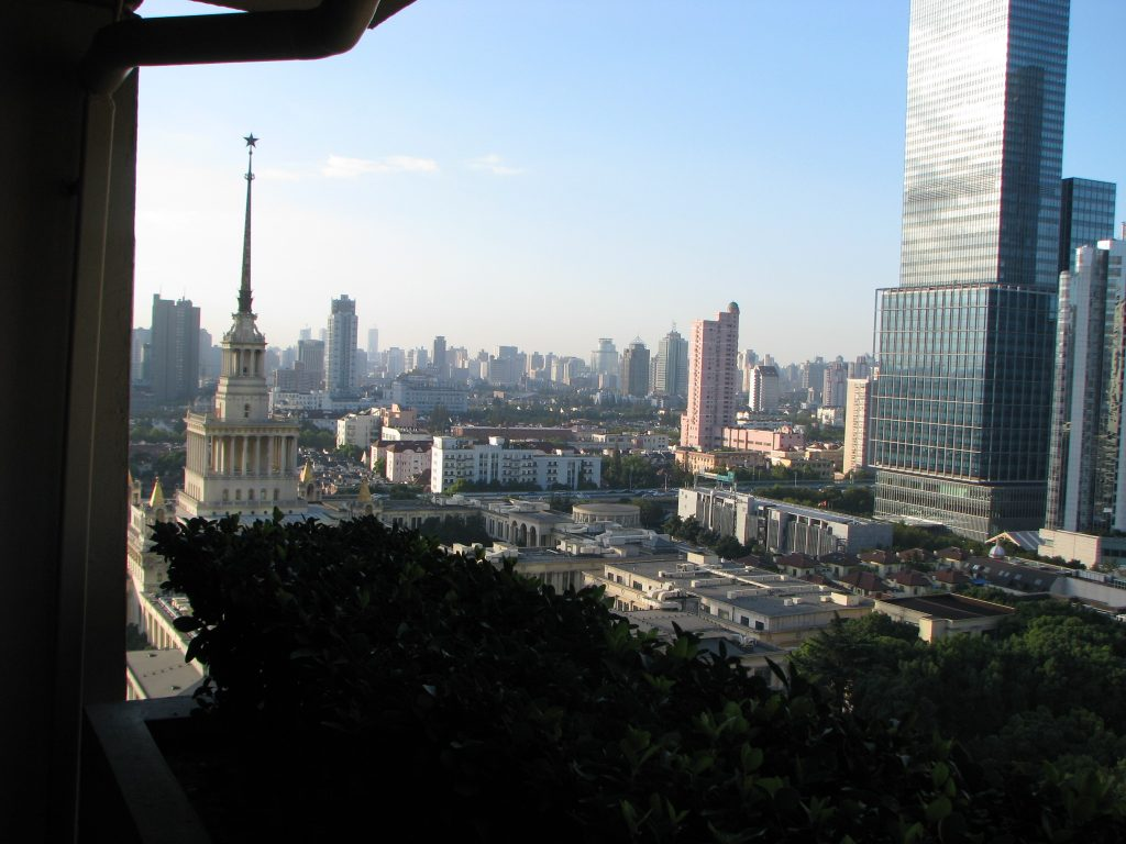 View from Shanghai Centre